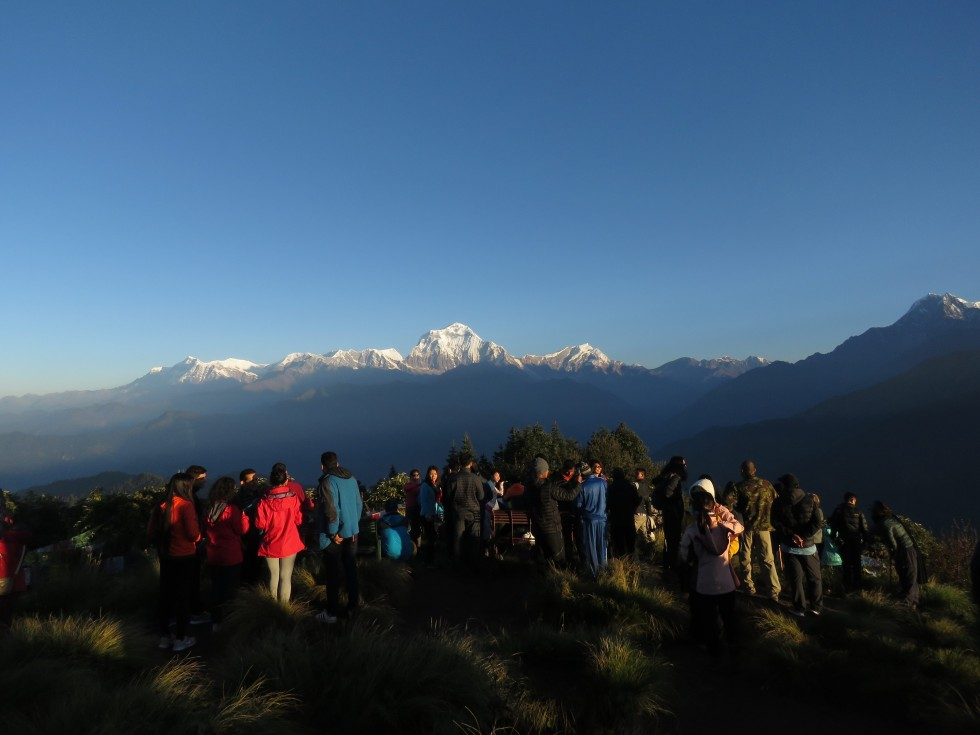 940,000 tourist visited Nepal in 2017