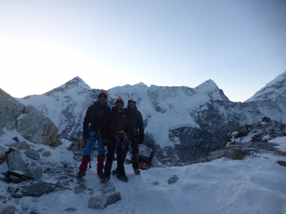 Three passes trekking and imja tse (island peak)