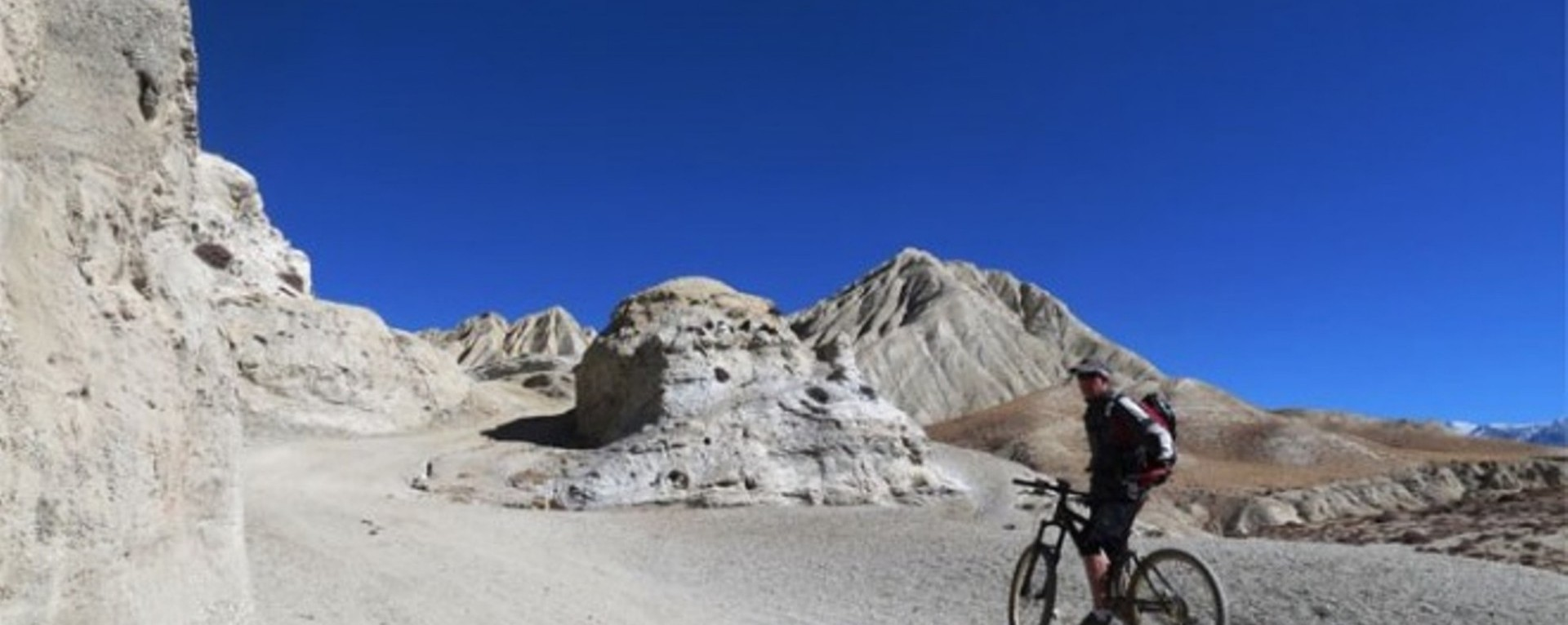Upper Mustang by Mountain Bike