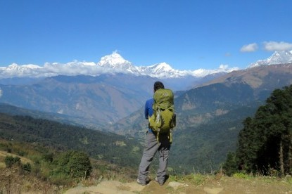 Dhaulagiri from deurali