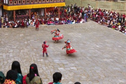 Mask Dance during Paro Tshechu