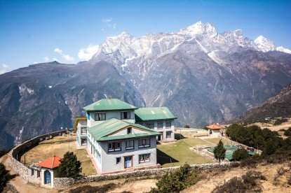 Khog De view from Syangboche