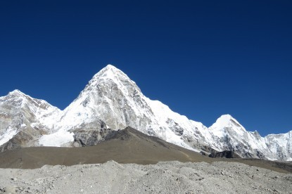 Pumori view from gorakshep