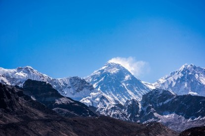 Everest View from 5th lake