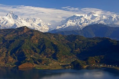 view from pokhara
