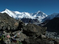 Cho oyu view from Gokyo Ri