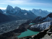 View from Gokyo Ri Everest