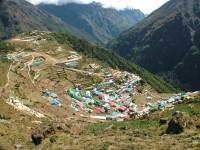 Namche Bazar Everest