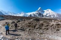 Amadablam view from Chhukung