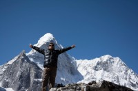 Amadablam view from Chhukung (2)